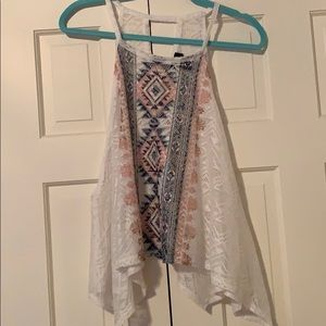 Rue 21 Lace Cover Top
